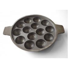 Paniyaram Pan - Cast Iron (Unniyappa Chatty) |Not seasoned