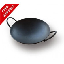 Iron Appam Pan (Iron Appachatty) - With Iron Handle