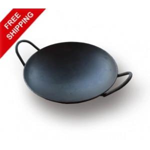 Iron Appam Pan (Iron Appachatty) - With Iron Handle