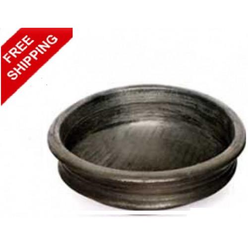 Clay Curry Pots Black - Manchatty