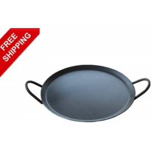 Iron Dosa or Chapati Tawa with Iron Handle