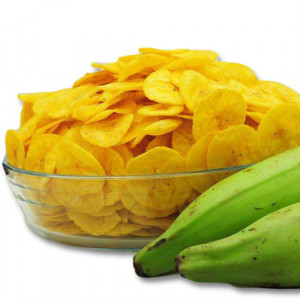 Banana Chips -Kerala Raw Plantain Chips