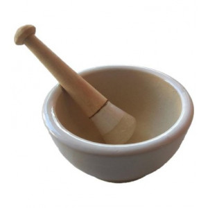 Ceramic Mortar and Pestle
