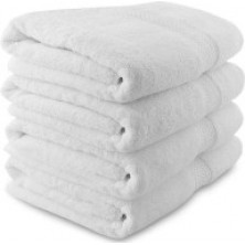 Bath Towel - White Spa Towel (Soft White Thorth)