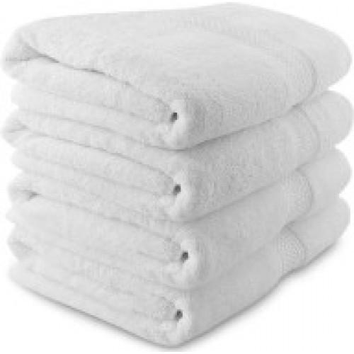 White Bath Towel - White Spa Turkey Towel (Soft White Thorth)