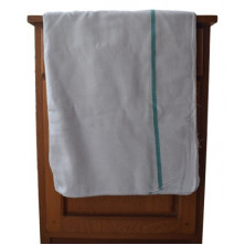 Thorth - Kerala  White Bath Towel