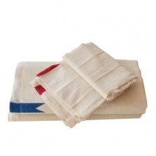 Thorth Kerala Cream Colour Bath Towel