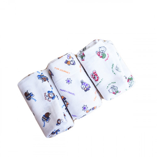 Thorth - White Kerala Bath Towel Designed