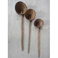 Coconut Shell Ladle Set (Chiratta Thavi)