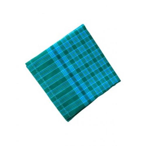 Handkerchief-Check Design Hand Towel