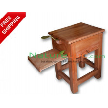 Coconut Scraper Stool (Thenga Chirava) - Wooden
