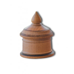 Wooden Kumkum Box