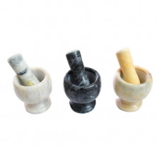 Mortar and Pestle-Marble morter and pestle (crusher)