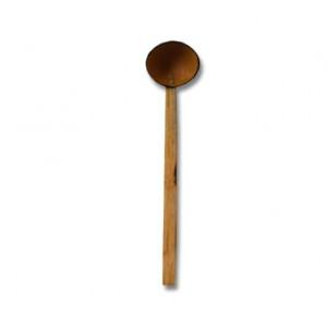 Ladles Spoons-Coconut Shell Ladles Metal Binding