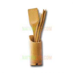 Bamboo Spatula Set