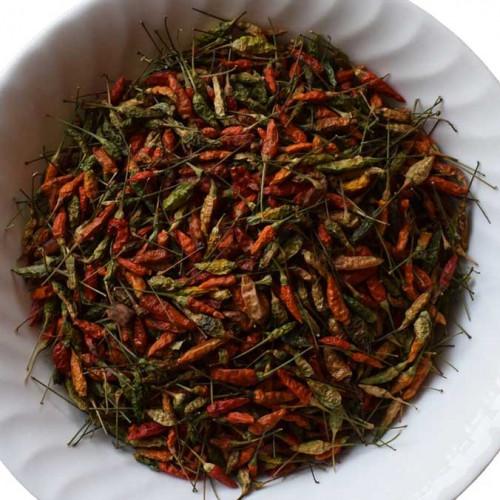 Birds Eye Chilli ( Kanthari Mulaku ) - Dried