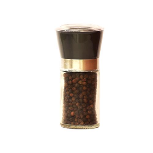 Black Pepper in Hand Grinder Bottle