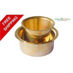 Brass Dabara Set