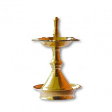 Nilavilakku (Brass oil lamp)