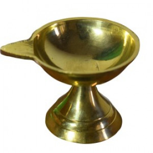 Brass Chiratu with Stand