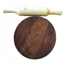 Wooden Chappathi Polpat and Roller