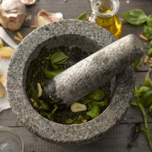 Mortar and Pestle (Idikallu) -Stone