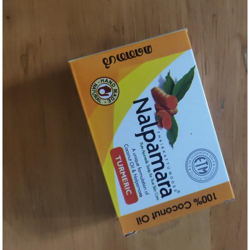 Nalpamara Pure Ayurvedic Soap - Turmeric