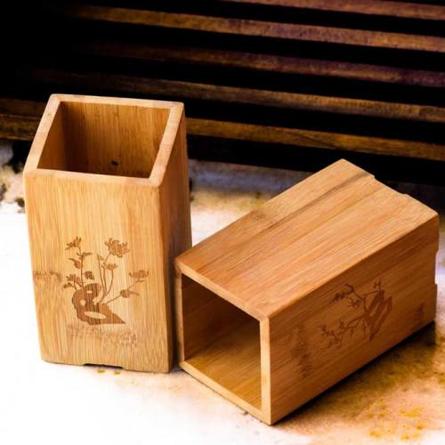 Pen Stand | Holder - Bamboo