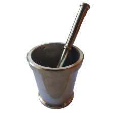 Mortar And Pestle (Idikallu) - Steel